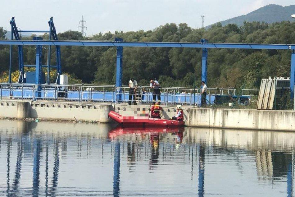 Utopený človek pri Šalkovej