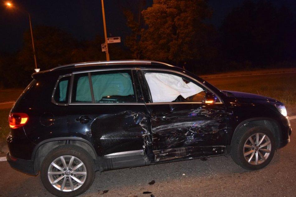Obrazom: Na Duklianskej ulici v Prešove došlo k dopravnej nehode