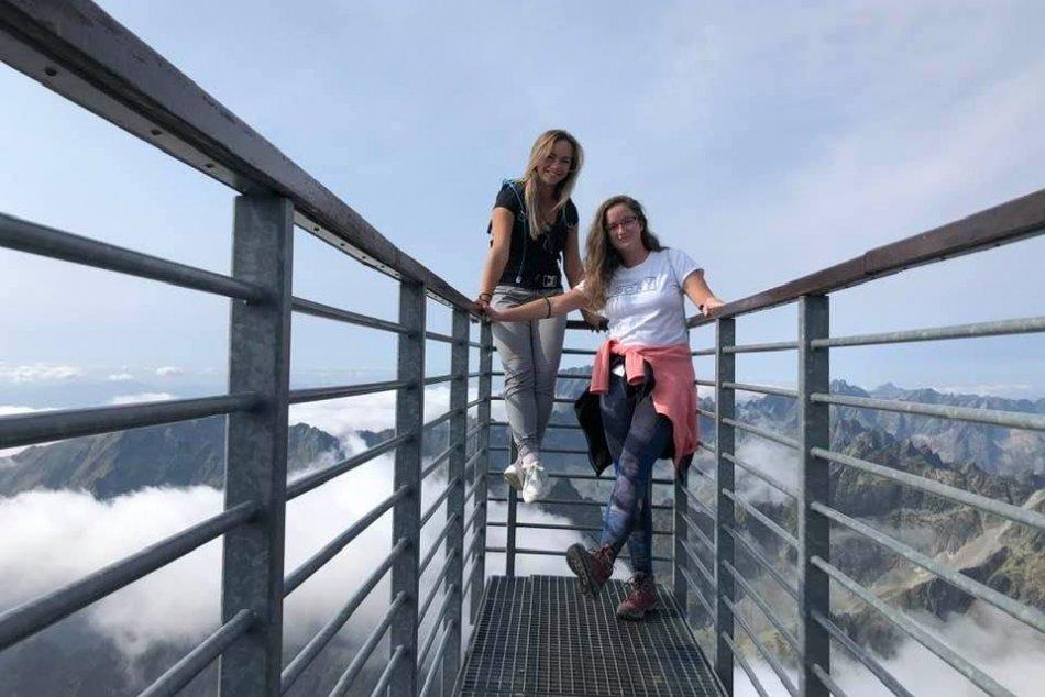 Výhľad z vrcholov slovenských hôr - túry E. Prcúchovej