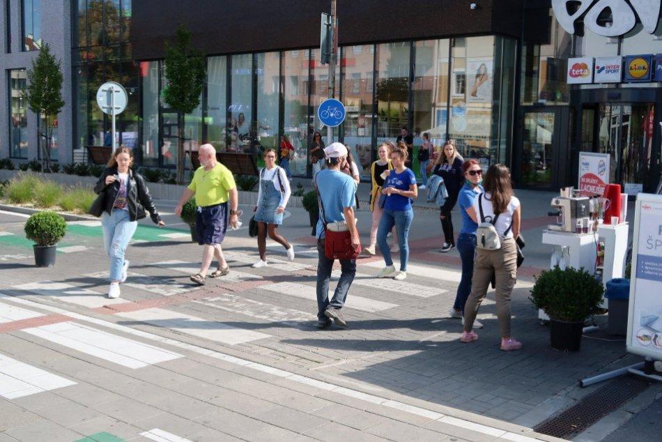 V OBRAZOCH: Frekventovaná ulica sa zmenila na pešiu zónu