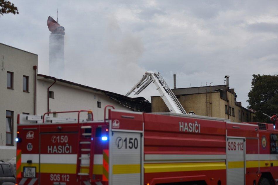 Obrazom: Požiar sladovne v Trnave