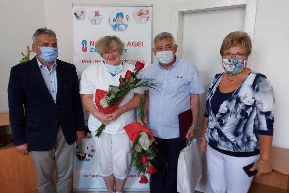 Mesto ocenilo lekárov a zdravotníkov