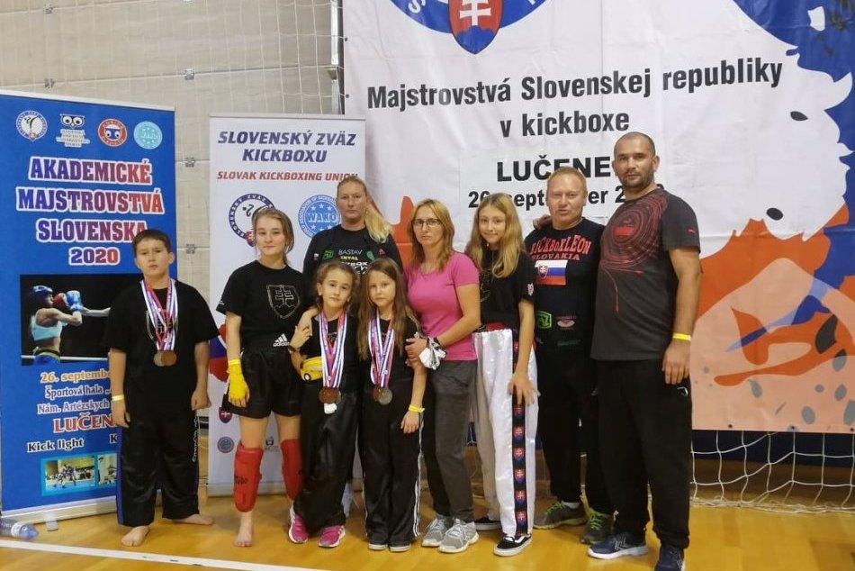 V OBRAZOCH: Kickobx Leon Revúca na majstrovstvách Slovenska