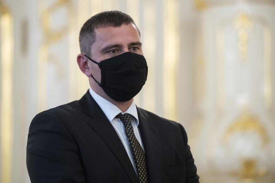 FOTO: Robert Šorl počas jeho vymenovania za sudcu Ústavného súdu SR prezidentkou
