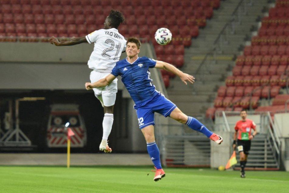 FC Spartak Trnava – FC Nitra 0:2 (0:1)