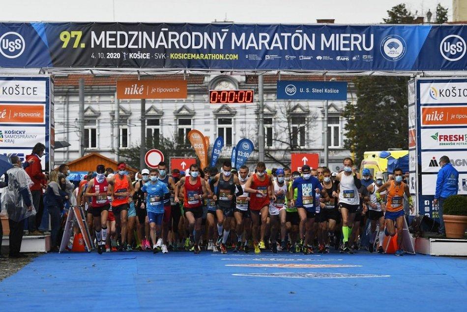 Medzinárodný maratón mieru Košice 2020
