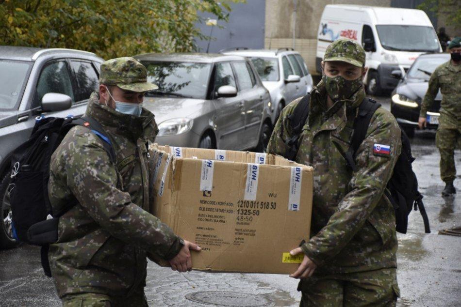 Oravským hygienikom prišla na pomoc armáda