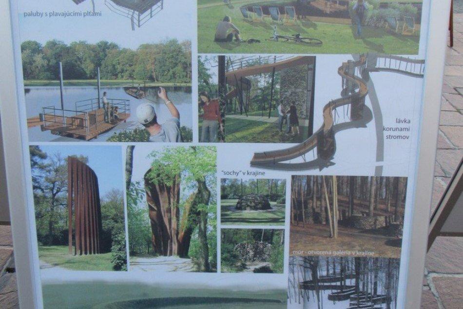 Obrazom: Prezentácia centrálneho mestského parku v Prešove v roku 2018