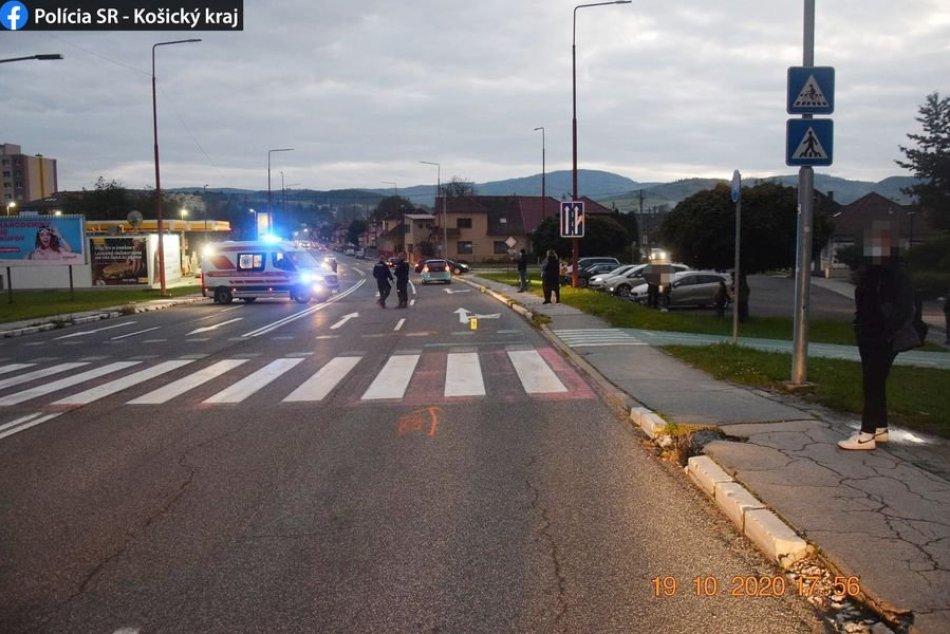 Nehoda na Elektrárenskej ulici: Dievča (9) utrpelo zranenia