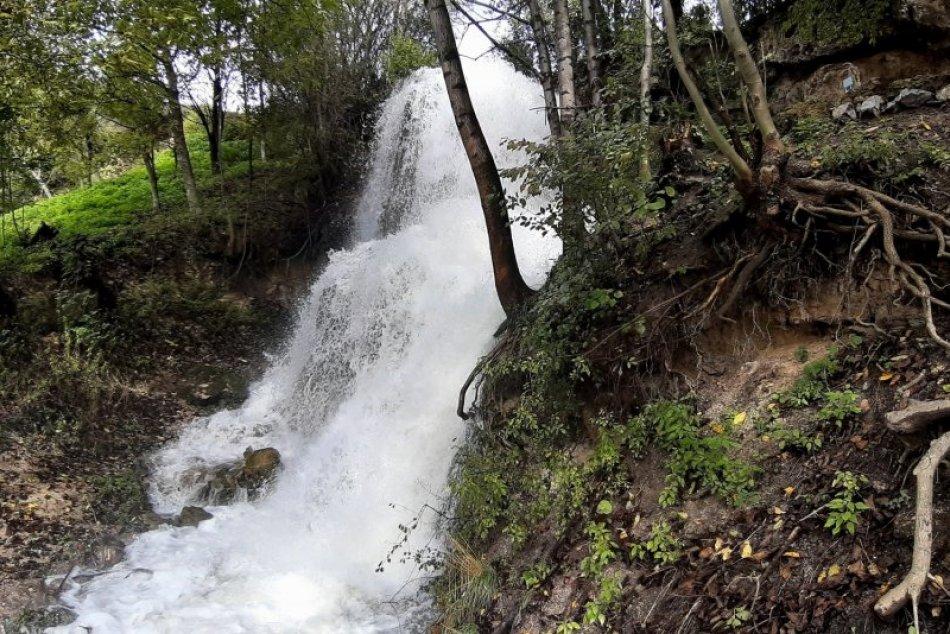Obrazom: Hrhovský vodopád v plnej paráde