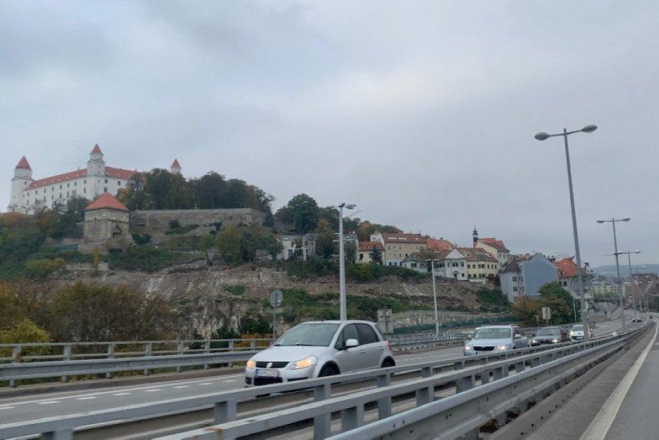 Zákaz vychádzania v Bratislave