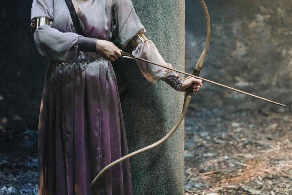 FOTO z natáčania rozprávky Princezná zakliata v čase s Natáliou Germáni