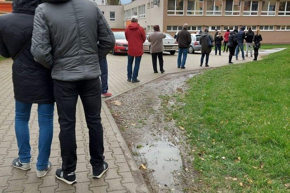 V OBRAZOCH: Plošné testovanie v Topoľčanoch