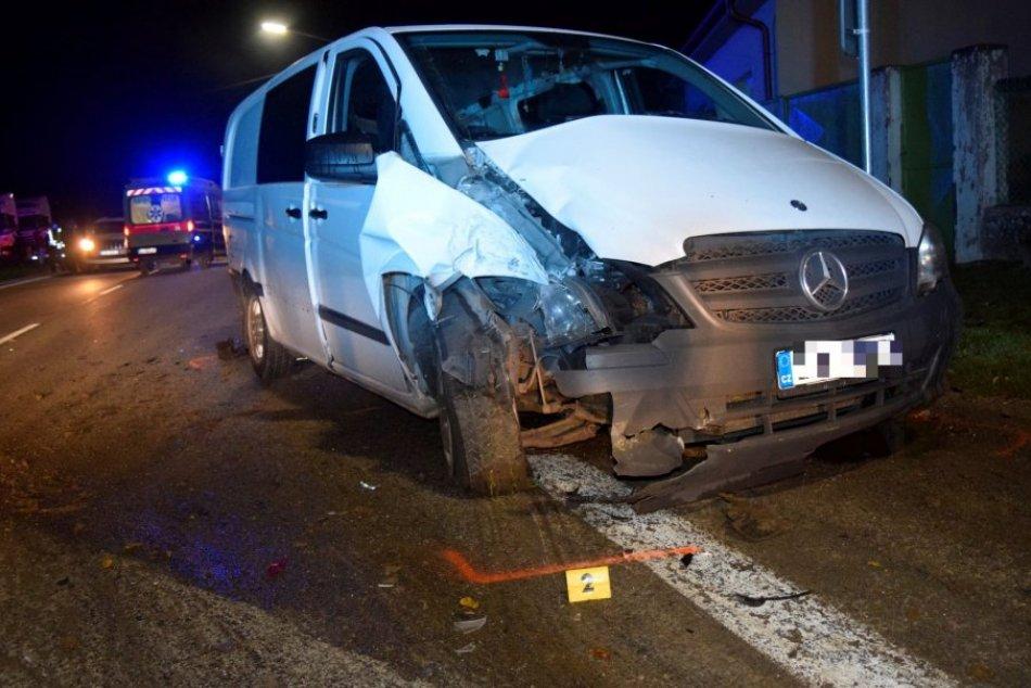 Nehoda v Hrušovanoch