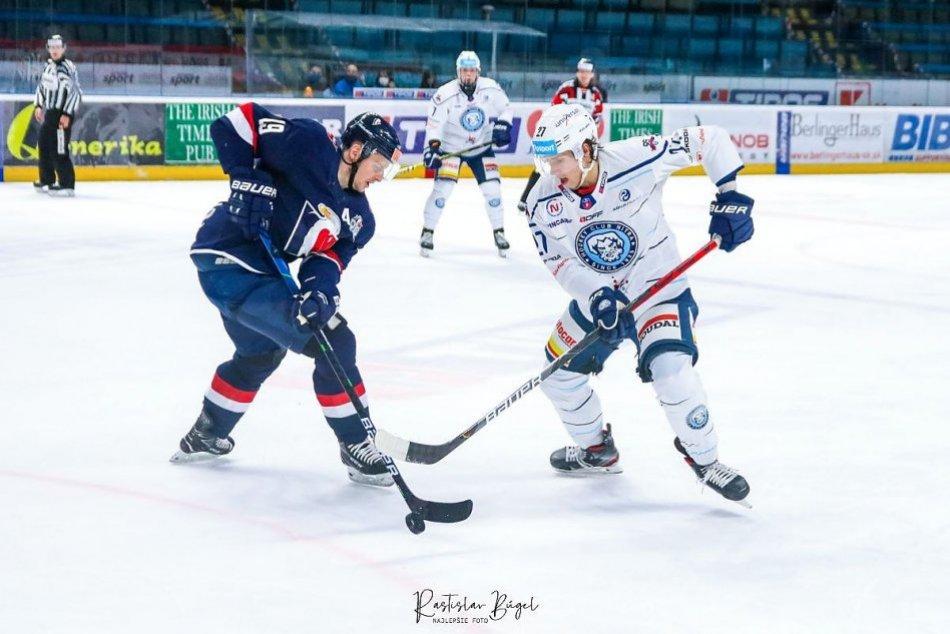 HK Nitra - Slovan Bratislava 4:5 v 1. semifinále Kaufland Cupu