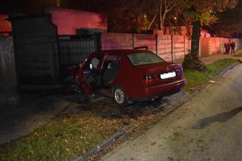 Dopravná nehoda na ul. Rázusa v Topoľčanoch