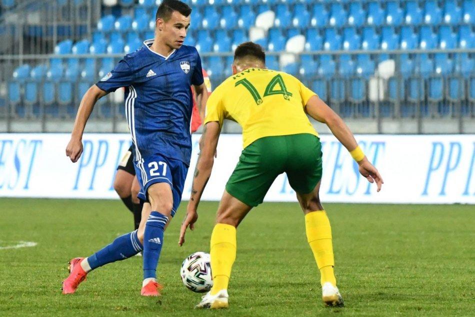 FC Nitra - MŠK Žilina 0:3 v 13. kole