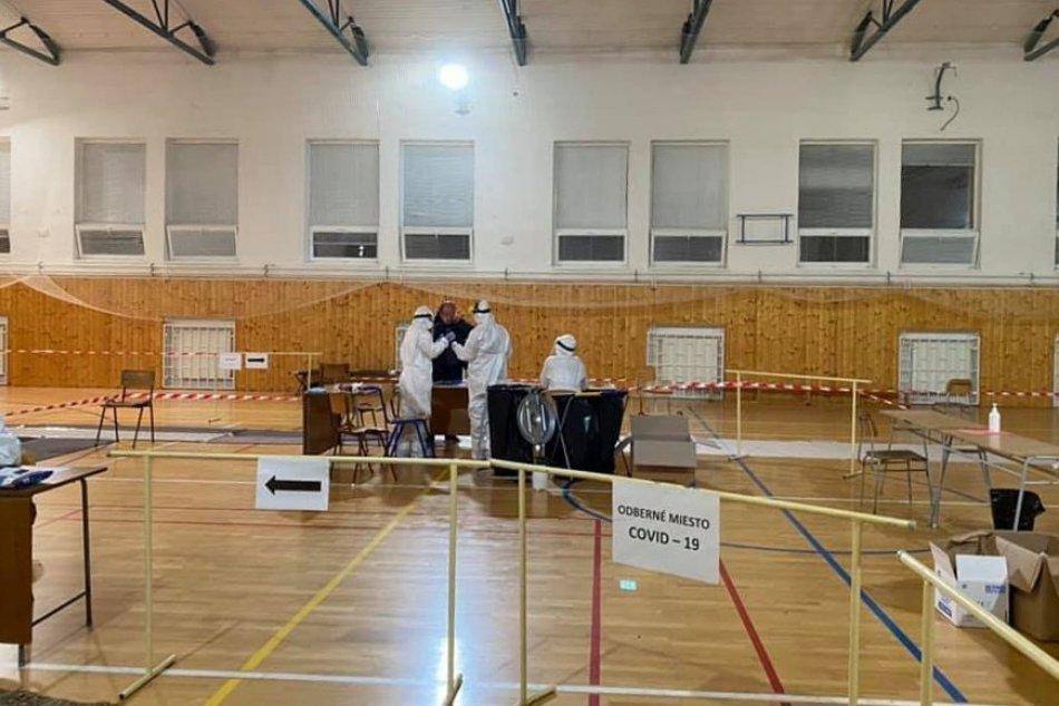 Druhé kolo testovania v Topoľčanoch