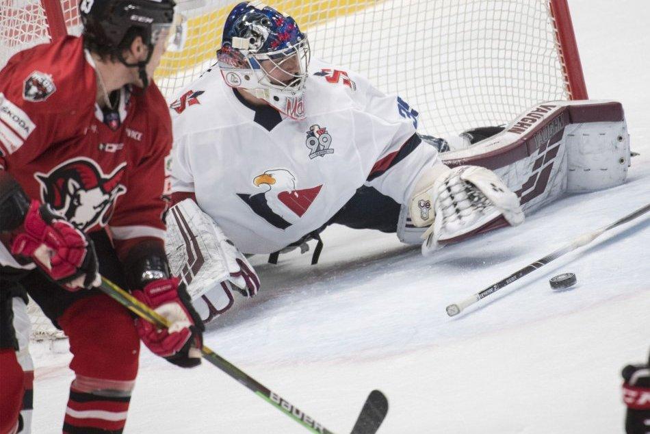 V OBRAZOCH: Bystrickí hokejisti nestačili na bratislavský Slovan