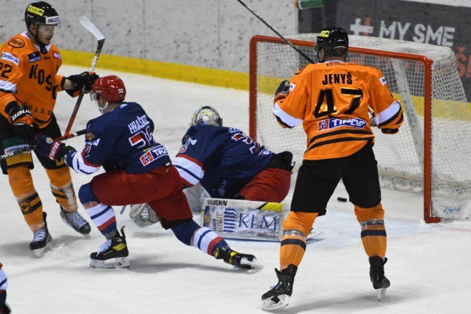 V OBRAZOCH: Hokejový zápas HC Košice - HKM Zvolen