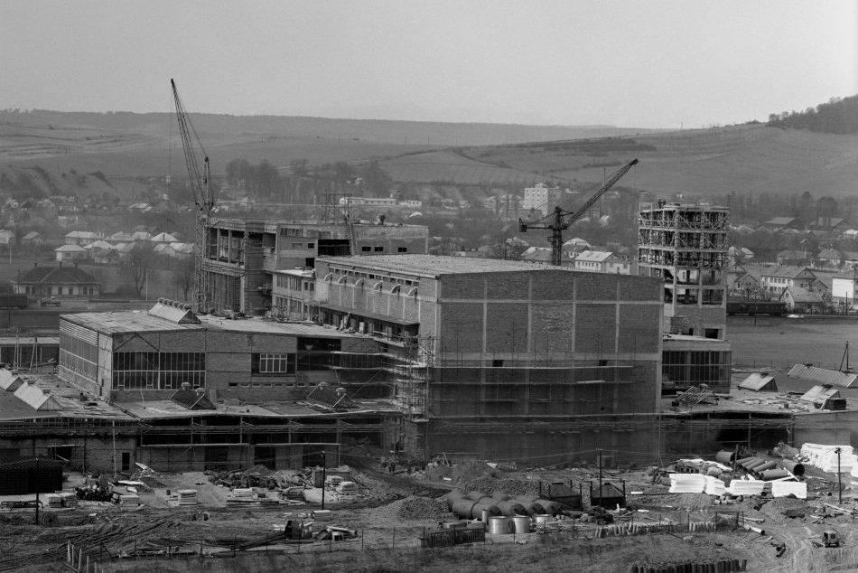 Obrazom: Výstavba a začiatky pivovaru vo Veľkom Šariši