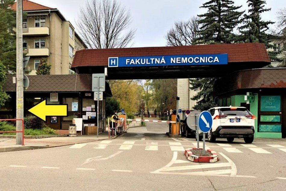 MIESTO, kde Fakultná nemocnica Trenčín spustila bezplatné antigénové testovanie