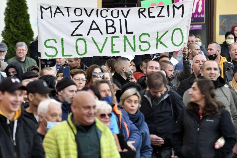 Protestné zhromaždenie v Košiciach