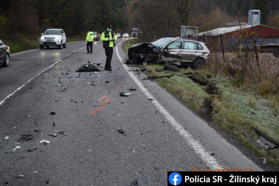 Nehoda na Liptove: Podľa polície išlo o predbiehanie