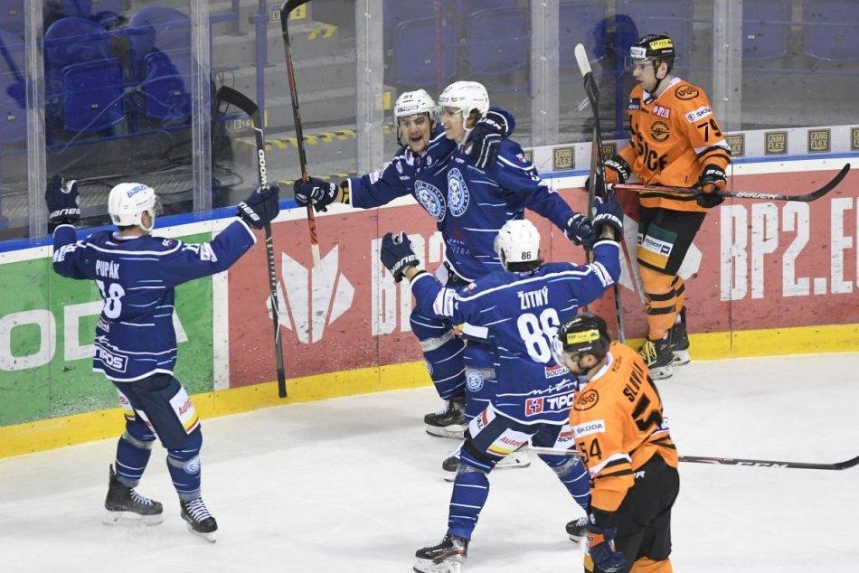 HC Košice - HK Nitra 3:4 v 15. kole