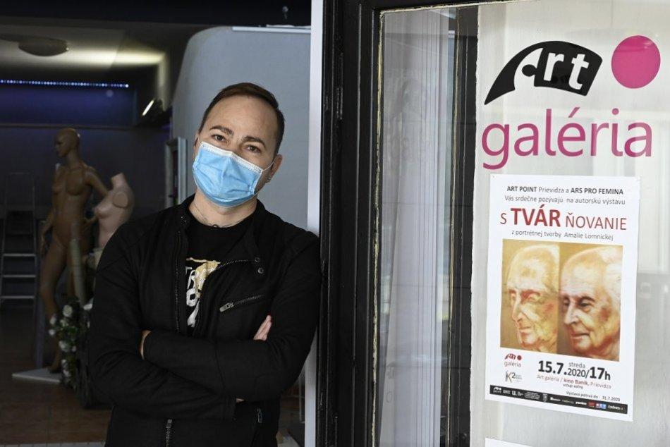 OBRAZOM: Zrušená galéria Art Point v Prievidzi