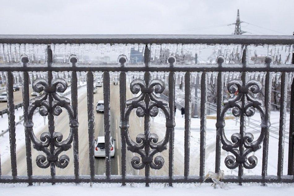 Ľadová búrka v Rusku