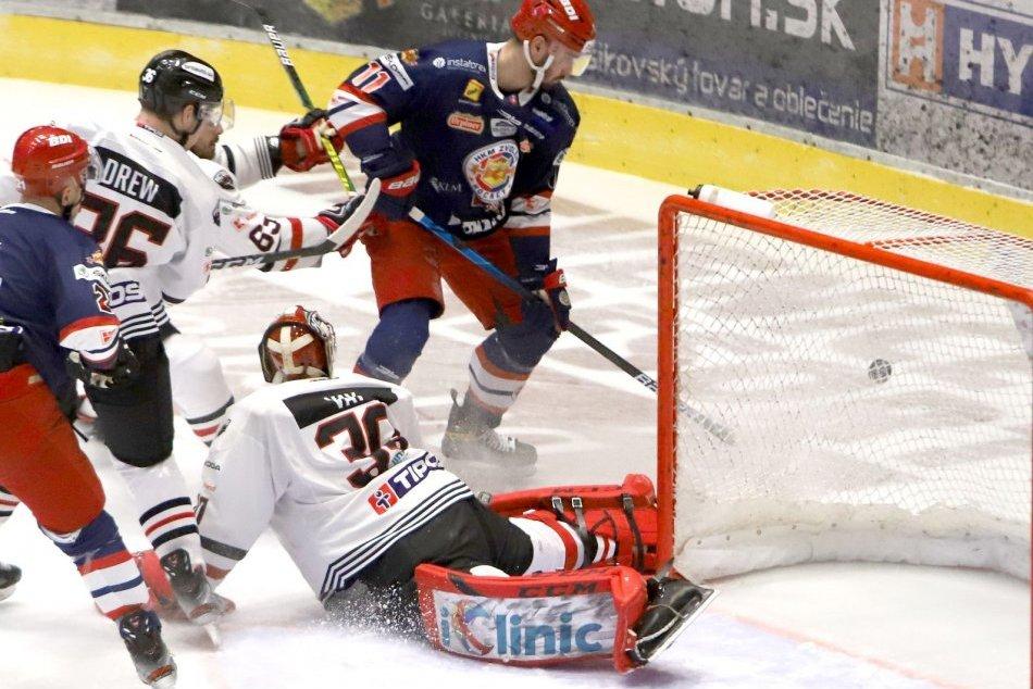 V OBRAZOCH: HC'05 Banská Bystrica - HKM Zvolen