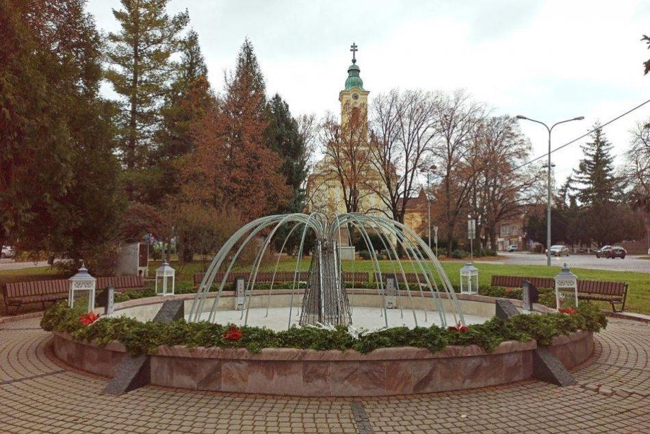 Adventný veniec v Zlatých Moravciach