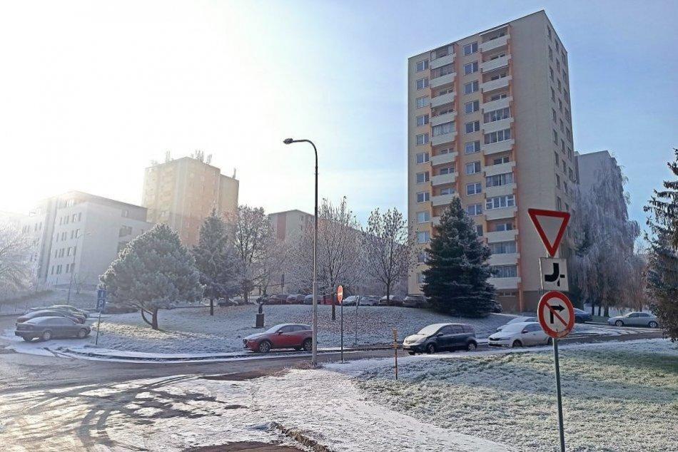 Prvý sneh dorazil do Nitry  2. decembra 2020