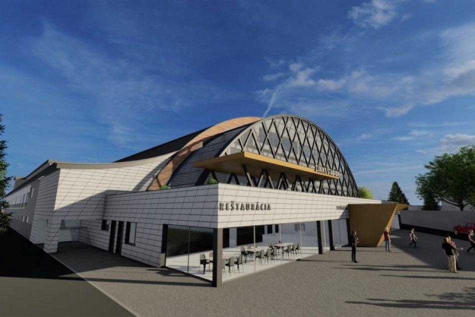 V OBRAZOCH: Takto má vyzerať bystrický zimný štadión po rekonštrukcii