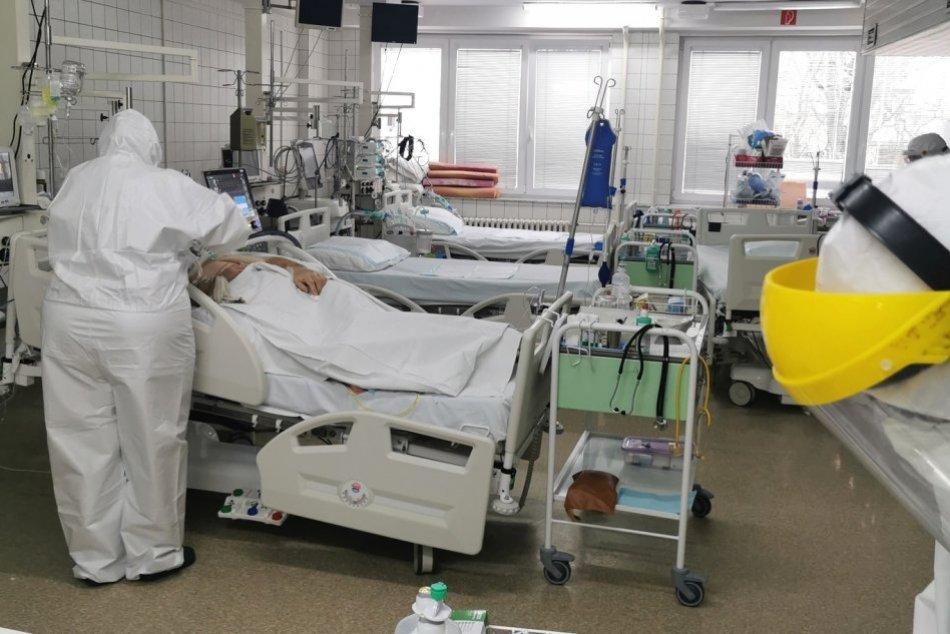 Covid ARO v nemocnici v Nitre