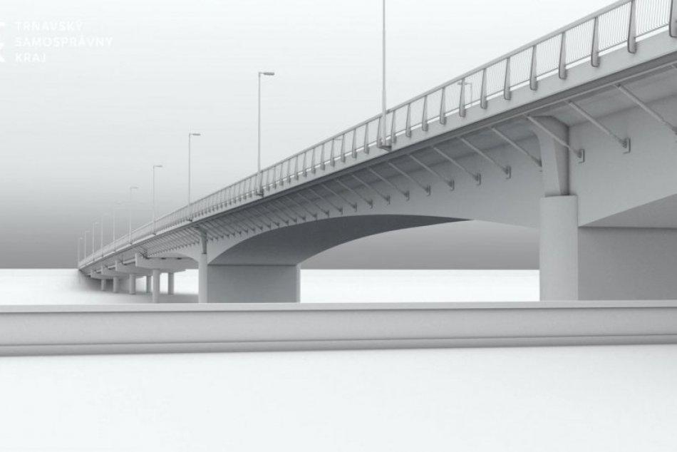 Rekonštrukcia mosta v Hlohovci