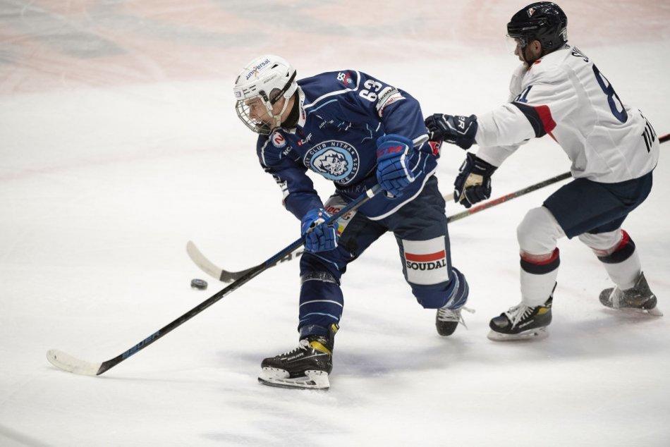 Slovan Bratislava - HK Nitra 5:4 v 20. kole
