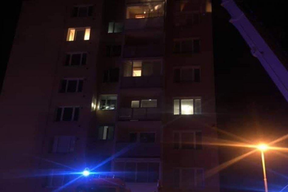 Požiar bytu na Ovručkej ulici v Košiciach