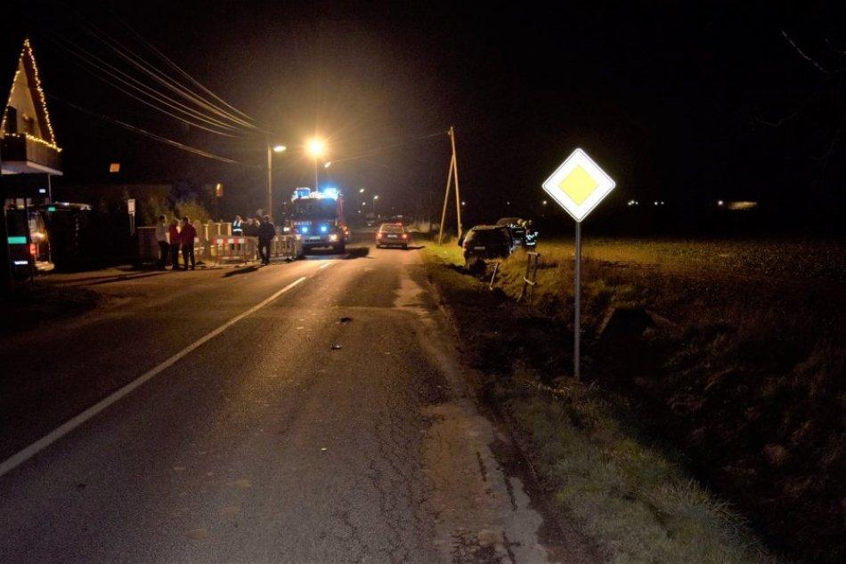 Dopravná nehoda v Jacovciach