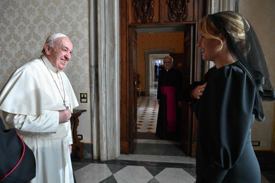 Prezidentka SR Zuzana Čaputová vo Vatikáne