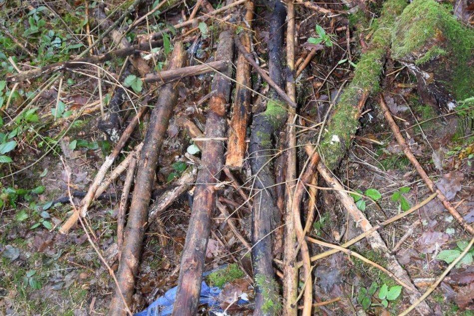 V OBRAZOCH: Zábery z miesta, na ktorom našli zavraždeného Bystričana