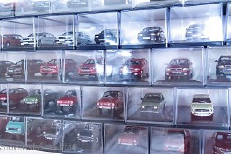 V OBRAZOCH: Rekordman zo Sliača má v zbierke stovky miniatúr škodoviek