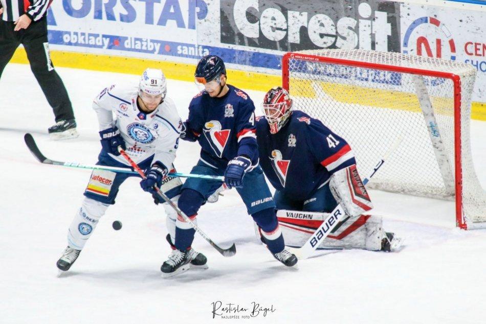 HK Nitra - HC SLovan Bratislava 1:4 v 23. kole