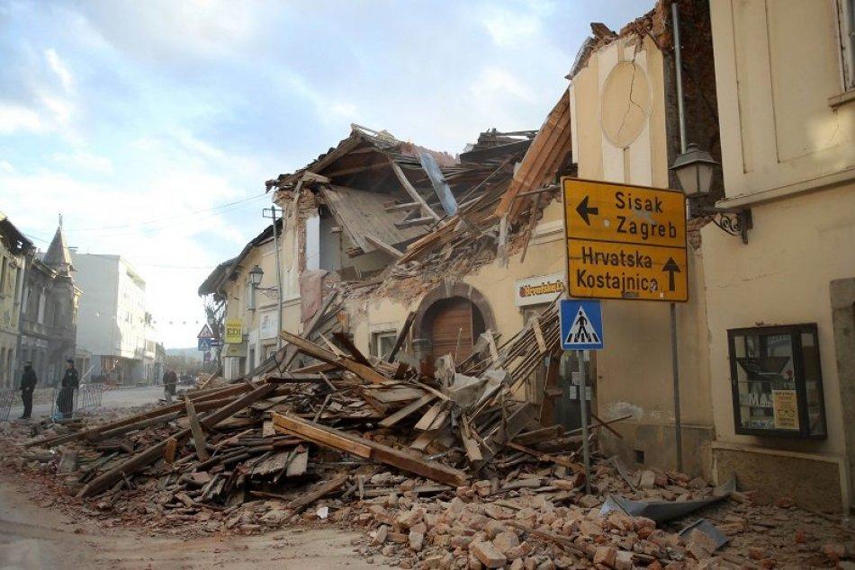 Zemetrasenie v Chorvátsku - Petrinja, Majska Poljana