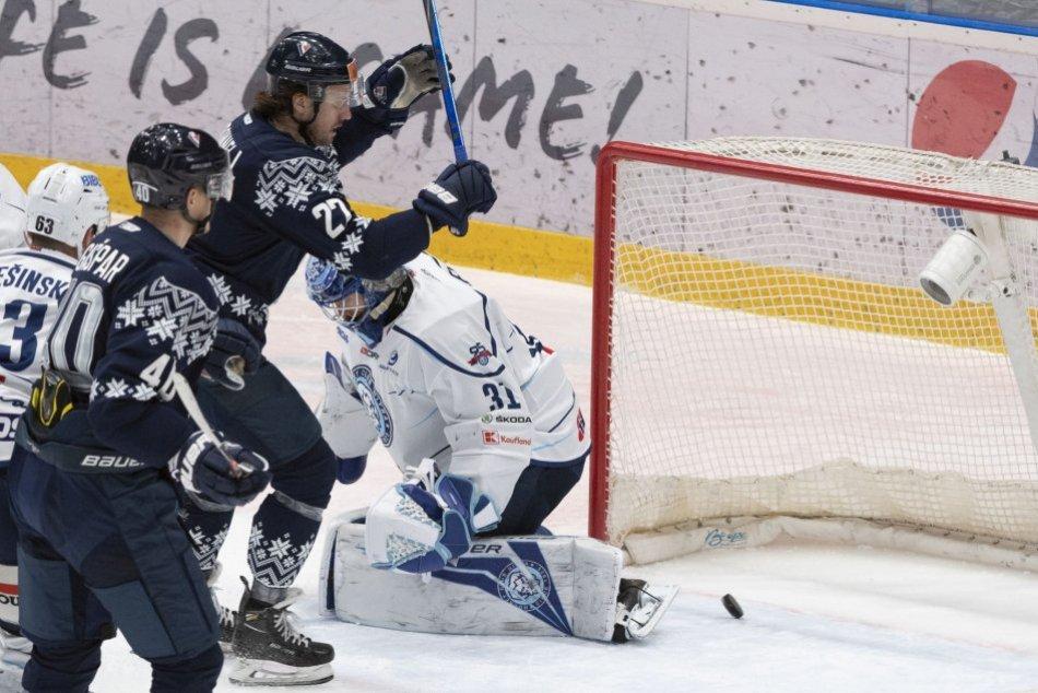 HC Slovan Bratislava - HK Nitra 1:2 v 26. kole