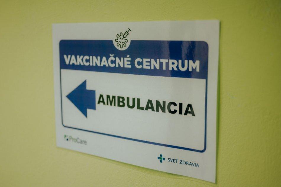 Vakcinácia zdravotníkov Svet Zdravia.