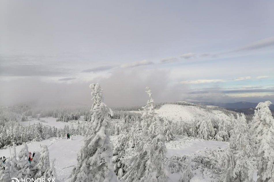 Obrazom: Zimný Volovec