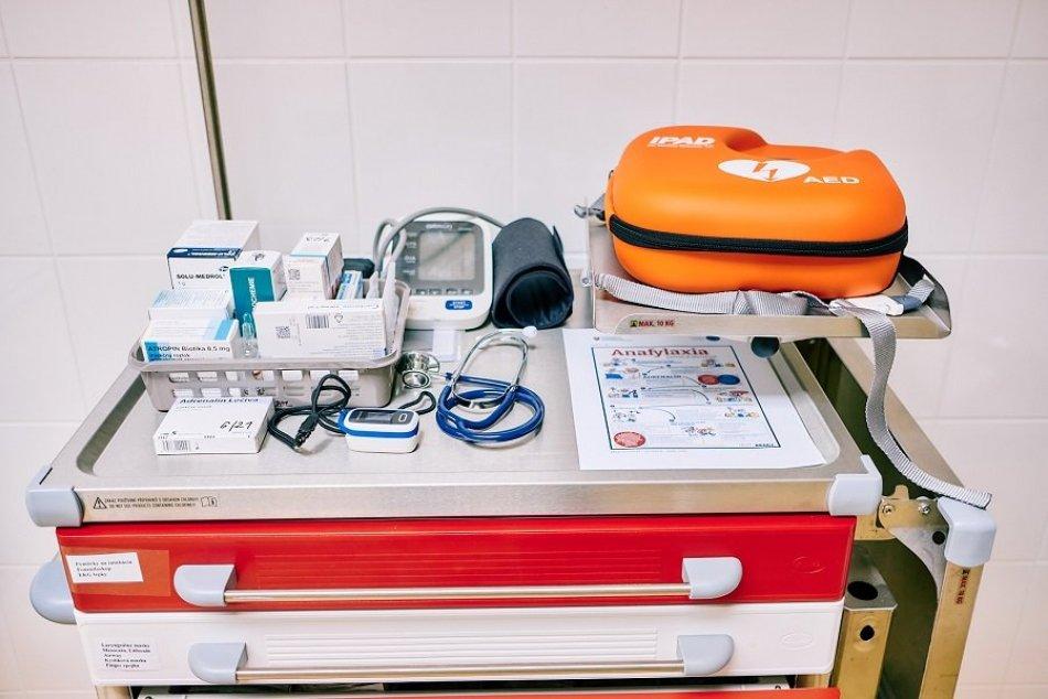 FOTO: Očkovanie v žiarskej nemocnici