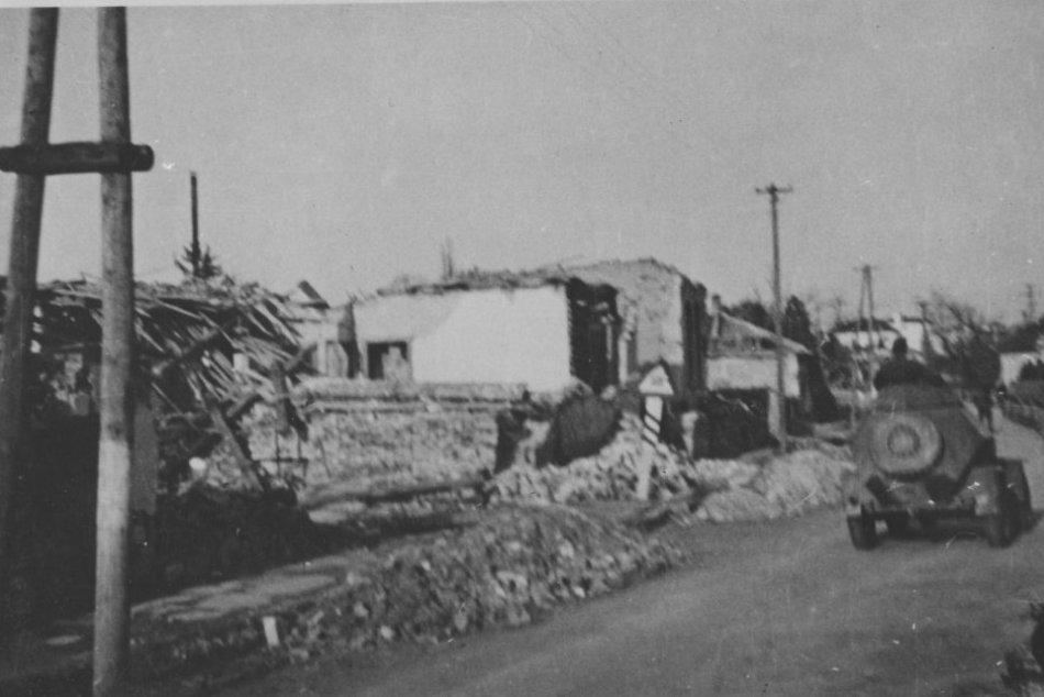 Obrazom: Oslobodenie Prešova v januári 1945